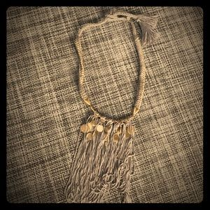 Stella & Dot Fringe Necklace